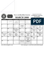 Tith Calendar March