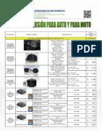 Kits de Conversión Para Auto y Moto