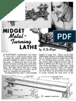 Micro-Lathe Plans (Popular Mechanics)