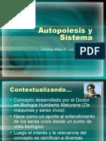 Autopoiesis&Sistema