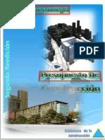 Presupuesto de La Construcción Para ARQUITECTOS by Angelu