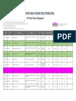 AIA IntegratedHealthcareSolutions GP ClinicListing