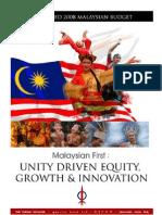 DAP 2008 Proposed Budget