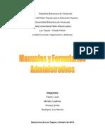 Tipos de Manuales y Formularios