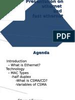 Presentation on ethernet