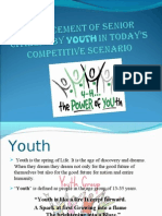 Replacement of Senior Citizens by YOUTH[1]