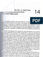 La Consultoria en La Gestion de La Comercializacion y La Distribucion