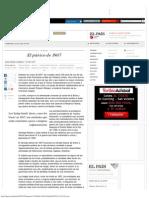 El Pánico de 1907 _ Edición Impresa _ EL PAÍS