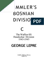 Himmler's Bosnian Division the Waffen-SS Handschar Division 1943-1945