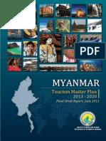 Myanmar Tourism Master Plan 2013-2020
