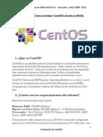 1.-Instalacion Centos Server