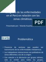 Enfermedades Metaxenicas en Perú