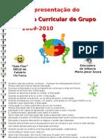 Apresentação sumária PCG 2009-2010