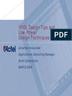 Vhdl Lp MAPLD2004