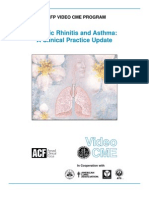Allergic Rhinitis Mono