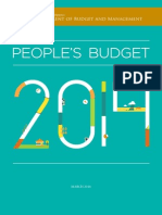 Philippine People's Budget 2014 (English)