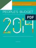 Philippine People's Budget 2014 (English)