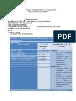 Jornalización Filosofia General Ciclo 02-2014
