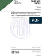 NBR 15575-5_2013