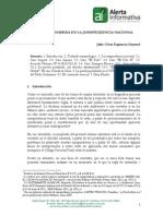 La Prueba Prohibida en La Jurisprudencia Nacional - Julio Espinoza Goyena