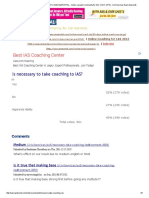 Is Necessary to Take Coaching to IAS_ _ IASEXAMPORTAL - India's Largest Community for IAS, CSAT, UPSC, Civil Services Exam Aspirants