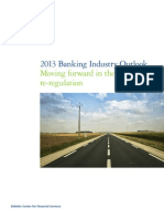 2013 Banking Outlook Moving Forward