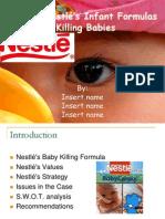 Nestle's Infant Formula