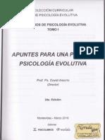 Apuntes Para Una Posible Psicologia Evolutiva