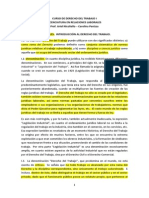Introducción Al Derecho Del Trabajo Uruguayo
