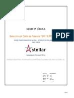 Cal Conductor de Potencia TX 40 Mva a Int Ppal 13-8 Kv