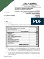 Standard Form of Agreement Between Owner AE ARRA-1