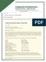 Communication -Advisory #184 for July 19 -2014