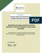 Material Didactico Para Programa de Capacitacion