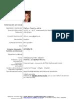 Curriculum Alicia