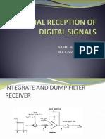 optimal reception of digital signals