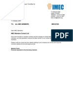 IMEC_07_60 - IMEC Members Contact Details List - Updated Version October 2007