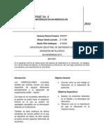 informe 6 hidrociclon