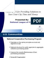 U.S. Communities Government Purchasing Alliance