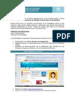 Curso Salud Ocupacional Factores de Reisgo y Prevencion Accidentes.