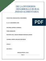 Trabajo Monografio( Medicion)