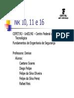 NR 10, 11 e 16 Apresenta__o