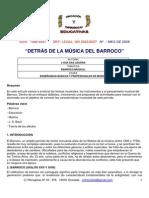 Detras d Ela Música Del Barroco