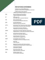 Abreviaturas Explicacion de Terminos Pbn