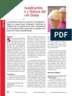 Efecto de Los Emulsificantes en Helado Bajo en Grasa_2007