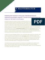 European Masterbatch Industry 22-03-2012