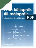 Rune Ingo -Från Källspråk Till Målspråk