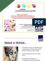 Clase 1.Investigación Evaluativa de La Lectura.prof.Aldo Ocampo González