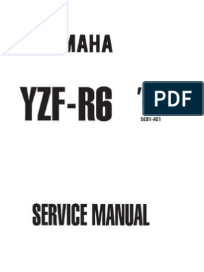 Manual Service R6 2000-1999 | Ignition System | Clutch on