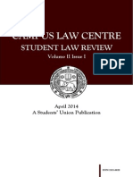 CLC Student Law Review Vol. II Issue I