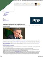 Declaração de Carvalho Sobre Vaias Causa Mal-estar No P